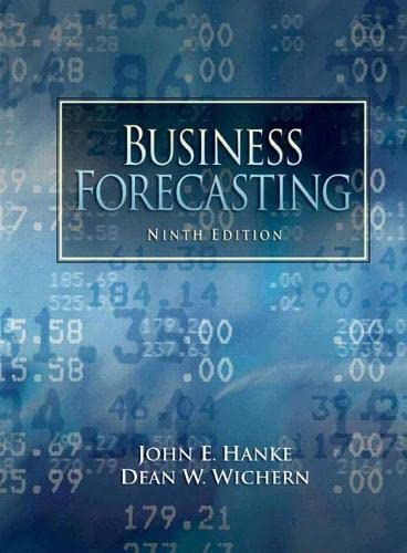 9780132301206: Business Forecasting