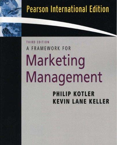 9780132301428: Framework for Marketing Management
