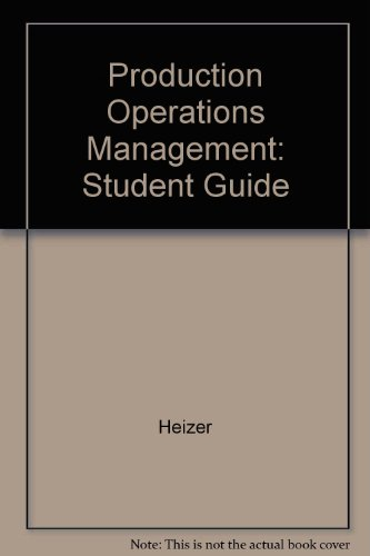 9780132302289: Production Operations Management: Student Guide