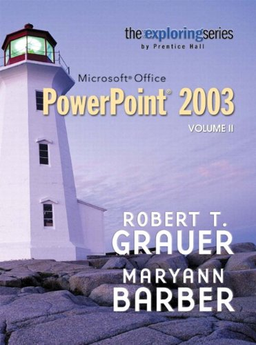 9780132303972: Exploring Microsoft PowerPoint 2003, Vol. 2 and Student Resource CD Package
