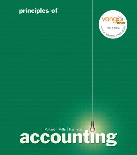 9780132304795: Principles of Accounting