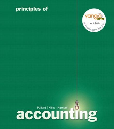 9780132304795: Principles of Accounting