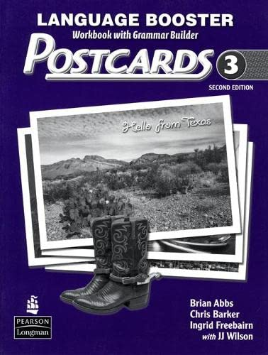 9780132305129: Postcards 3 Language Booster