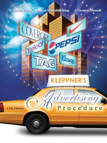 9780132308298: Kleppner's Advertising Procedure (17th Edition)