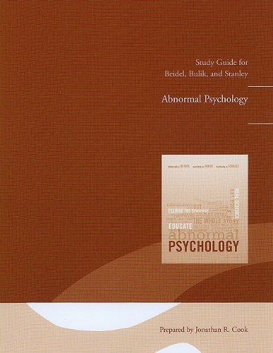 9780132308922: Study Guide for Abnormal Psychology