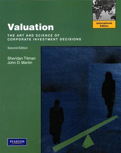 9780132311472: Valuation:International Edition