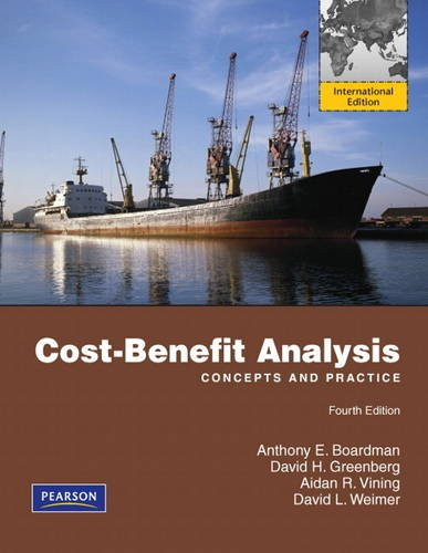9780132311489: Cost-Benefit Analysis: International Edition (Pearson Series in Economics)