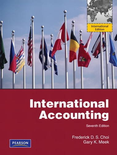 9780132311496: International Accounting