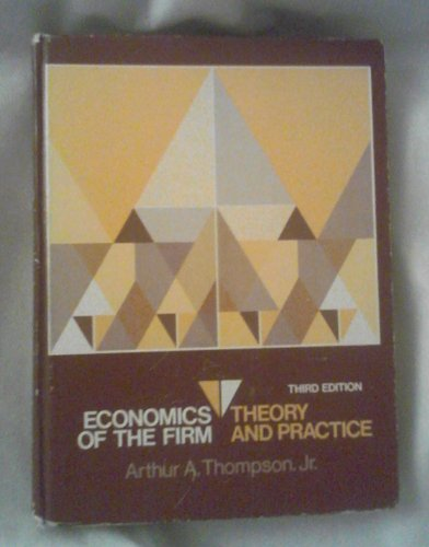 9780132314237: Economics of the Firm: Theory and Practice
