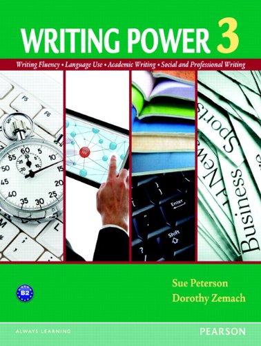 9780132314862: Writing Power 3