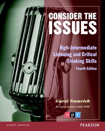 9780132314893: Consider the Issues (4th Edition)