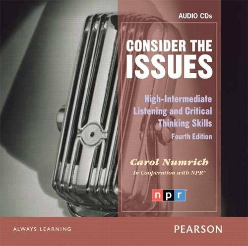 9780132314909: Consider the Issues Audio CD