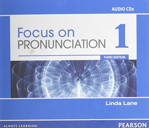 9780132314961: Focus on Pronunciation 1 Audio CDs