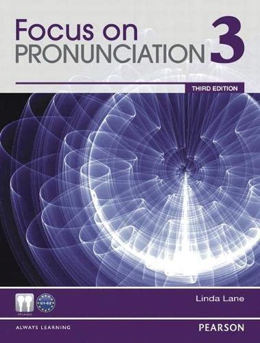 9780132315005: Focus on Pronunciation 3 (3rd Edition)