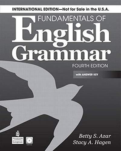 9780132315135: Fundamentals of English Grammar (International) SB with Answer Key