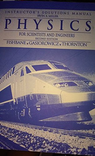 9780132315982: Physics for Scientists & Engineers: Instructor's Solutions Manual Second Edition