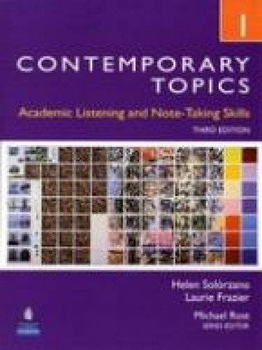 9780132316057: Contemporary Topics 1 (Student Book + DVD)