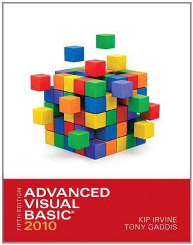 9780132316743: Advanced Visual Basic 2010 (5th Edition)
