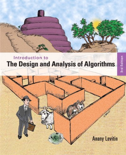 9780132316811: Introduction to the Design & Analysis of Algorithms