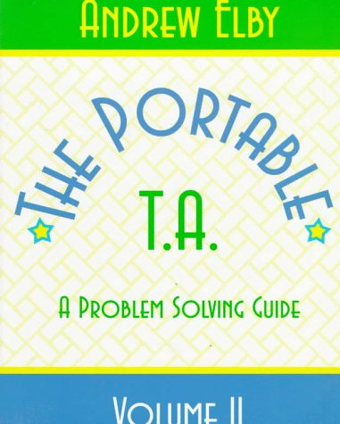 9780132317214: Portable TA: A Physics Problem Solving Guide, Volume II