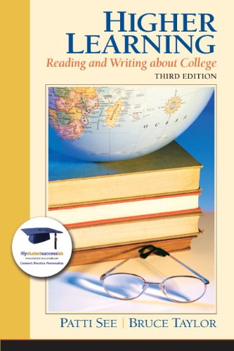 9780132318013: Higher Learning: Reading and Writing About College (3rd Edition) (MyStudentSuccessLab (Access Codes))