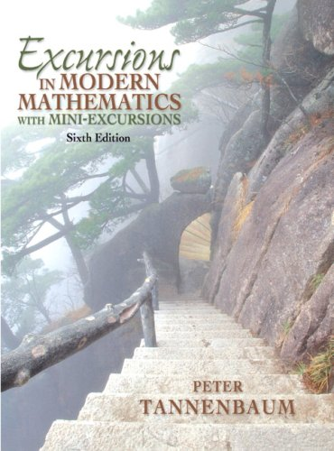 9780132319133: Excursions In Modern Mathematics with Mini-Excursions (6th Edition)