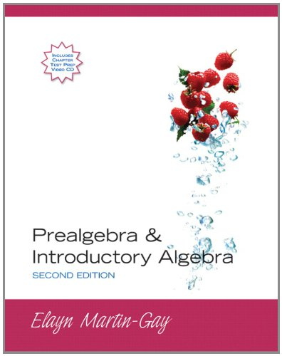 9780132319270: Prealgebra & Introductory Algebra (case binding) (2nd Edition)