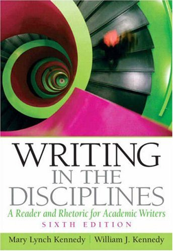 9780132319997: Writing in the Disciplines: A Reader and Rhetoric for Academic Writers