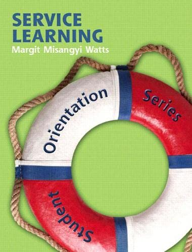 9780132322010: Student Orientation Series (SOS): Service Learning
