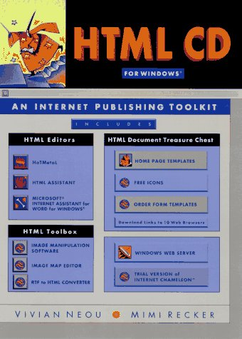 9780132323314: HTML CD: An Internet Publishing Toolkit for Windows/Book and Cd-Rom