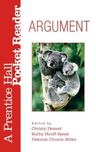 9780132323581: Argument: A Prentice Hall Pocket Reader