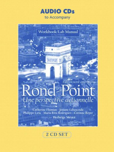 9780132326759: Rond Point Workbook/Lab Manual: Edition Nord-Americaine