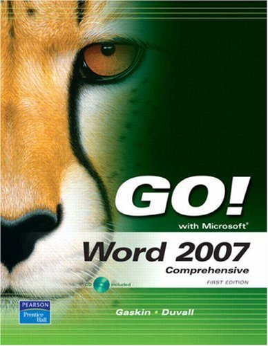 9780132327404: GO! with Word 2007, Comprehensive