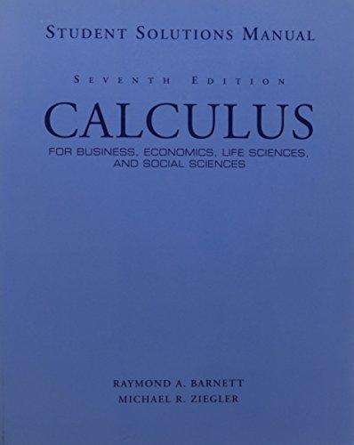 9780132327527: Sm Calculus Business Econ Life
