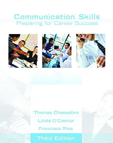 9780132327961: Communication Skills: Preparing for Career Success (NetEffect)