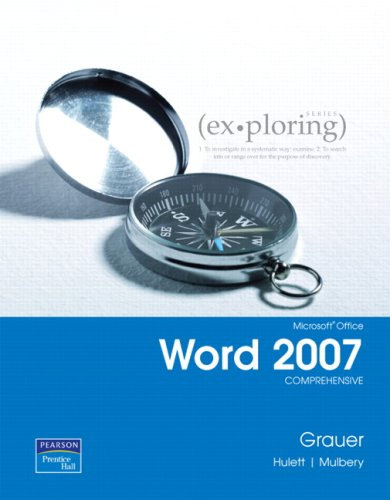 9780132328524: Exploring Microsoft Office Word 2007, Comprehensive