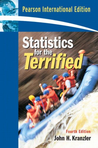 9780132328869: Statistics For The Terrified: International Edition
