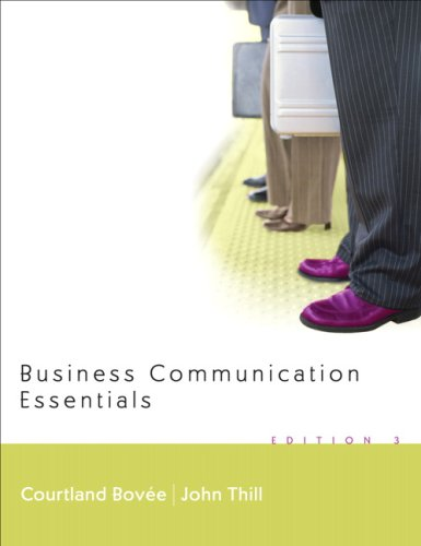 9780132328999: Business Communication Essentials and Peak Performance Grammar and Mechanics 2.0 CD Package (3rd Edition)