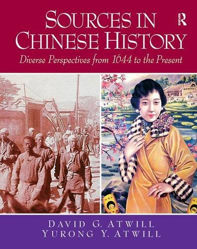 9780132330893: Sources in Chinese History: Diverse Perspectives from 1644 to the Present