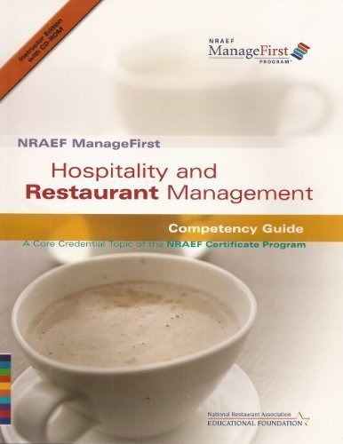 NRAEF ManageFirst: Hospitality and Restaurant Management: Competency: NRA National Restaurant