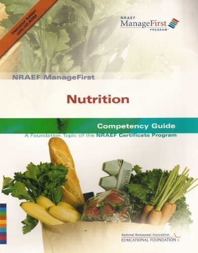 9780132331258: NRAEF ManageFirst: Nutrition: Competency Guide: A Foundation Topic of the NRAEF Certificate Program