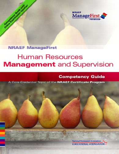 9780132331616: Human Resources Management and Supervision Competency Guide