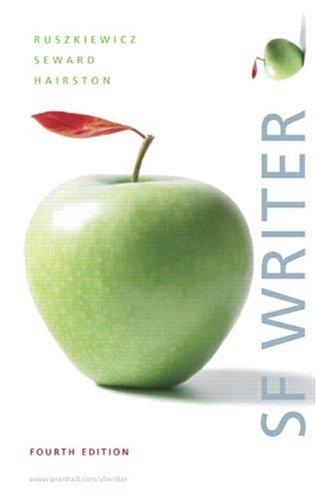 9780132334587: SF Writer (4th Edition)