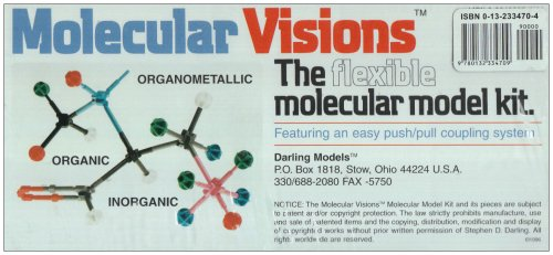 9780132334709: Organic & Inorganic Molecular Model Kit