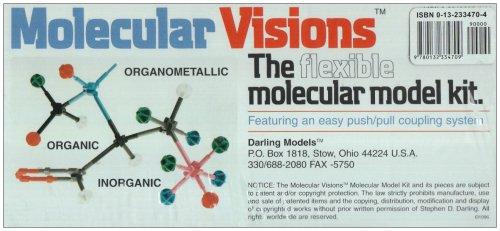 9780132334709: Organic & Inorganic Molecular Model Kit