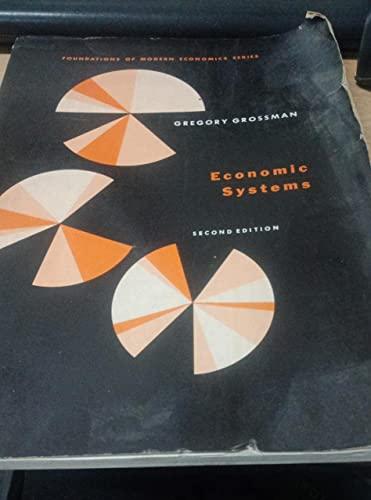 9780132334785: Economic Systems