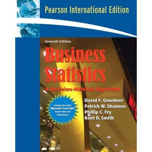 9780132334938: Business Statistics A Decision-Making Approach