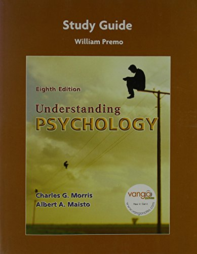 9780132335300: Study Guide for Understanding Psychology (all editions)