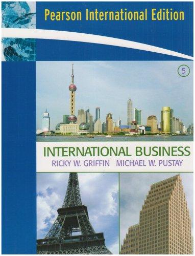 9780132335324: International Business