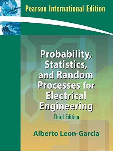 9780132336215 Probability Statistics And Random Processes For